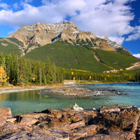 7 Day Western Canada Rocky Mountain Camping Escorted Tour