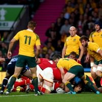 Rugby World Cup 2019 (TM), Australia v Uruguay, Japan