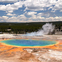 7 Day Yellowstone National Park Rocky Mountain Explorer - Camping