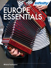 Infinity Holidays Europe Essentials Brochure
