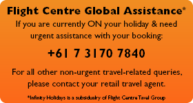Contact Us | Infinity Holidays