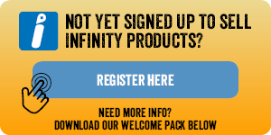 Sign Up to sell Infinity products