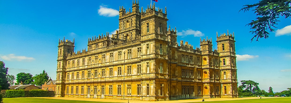 Highclere Castle - Downton Abbey film location