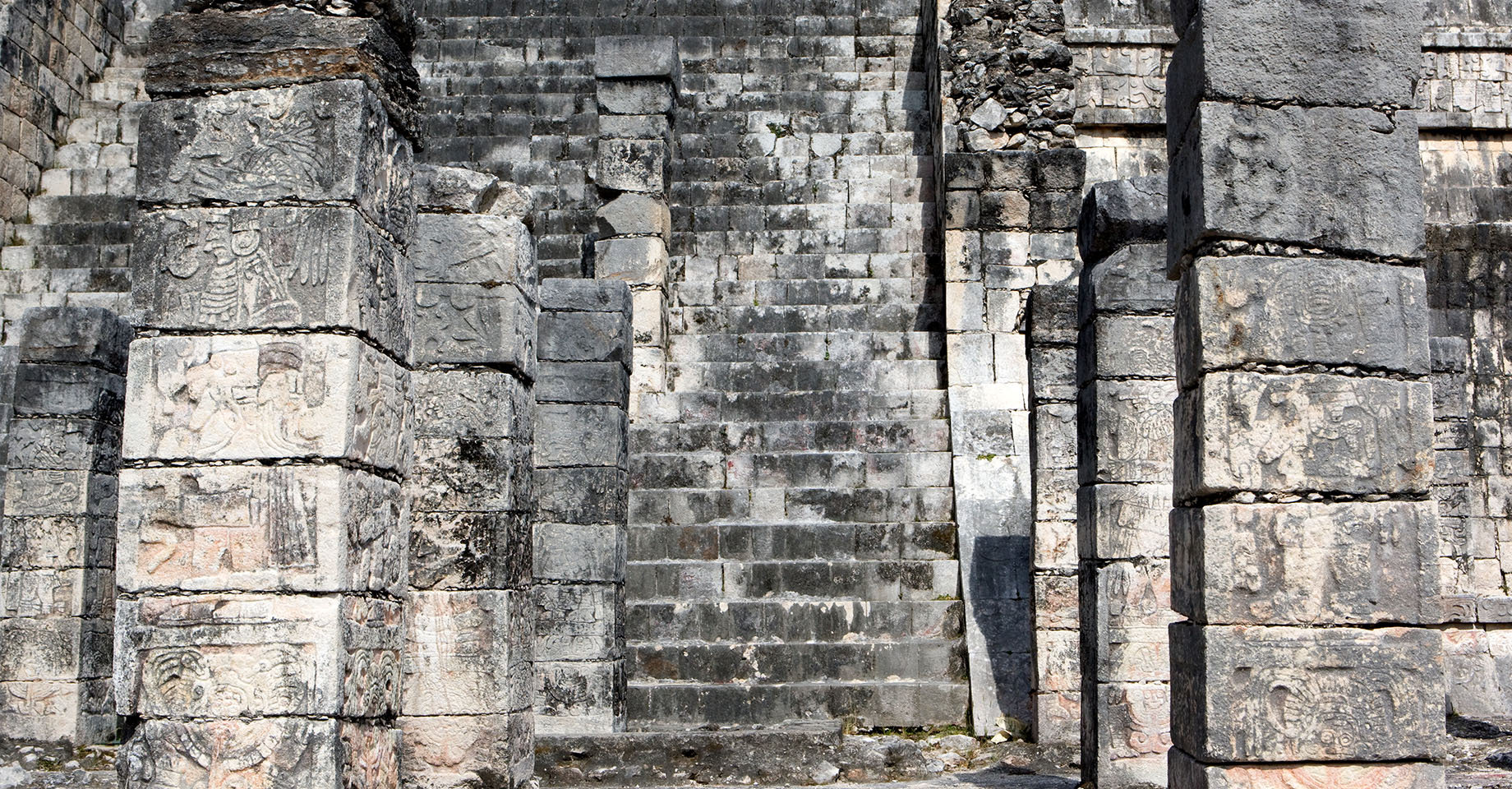 Chichen Itza temple ruins