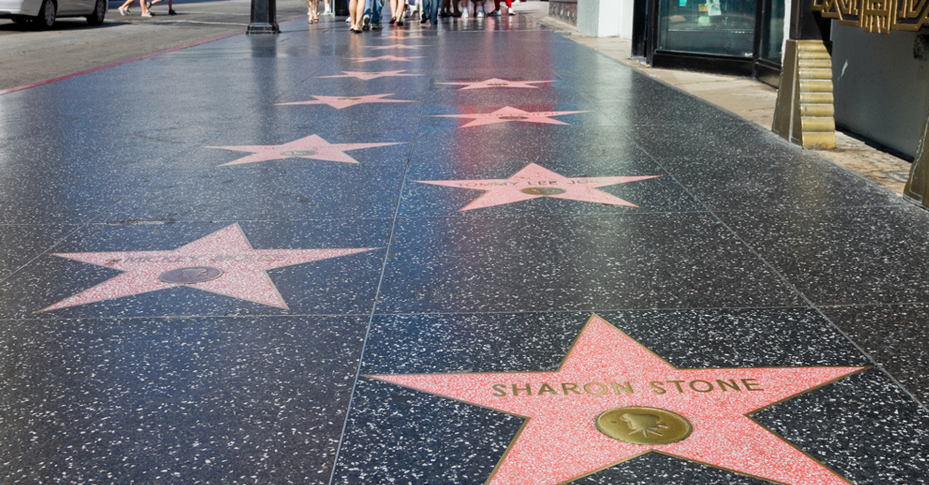 LAX Hollywood Walk Of Fame