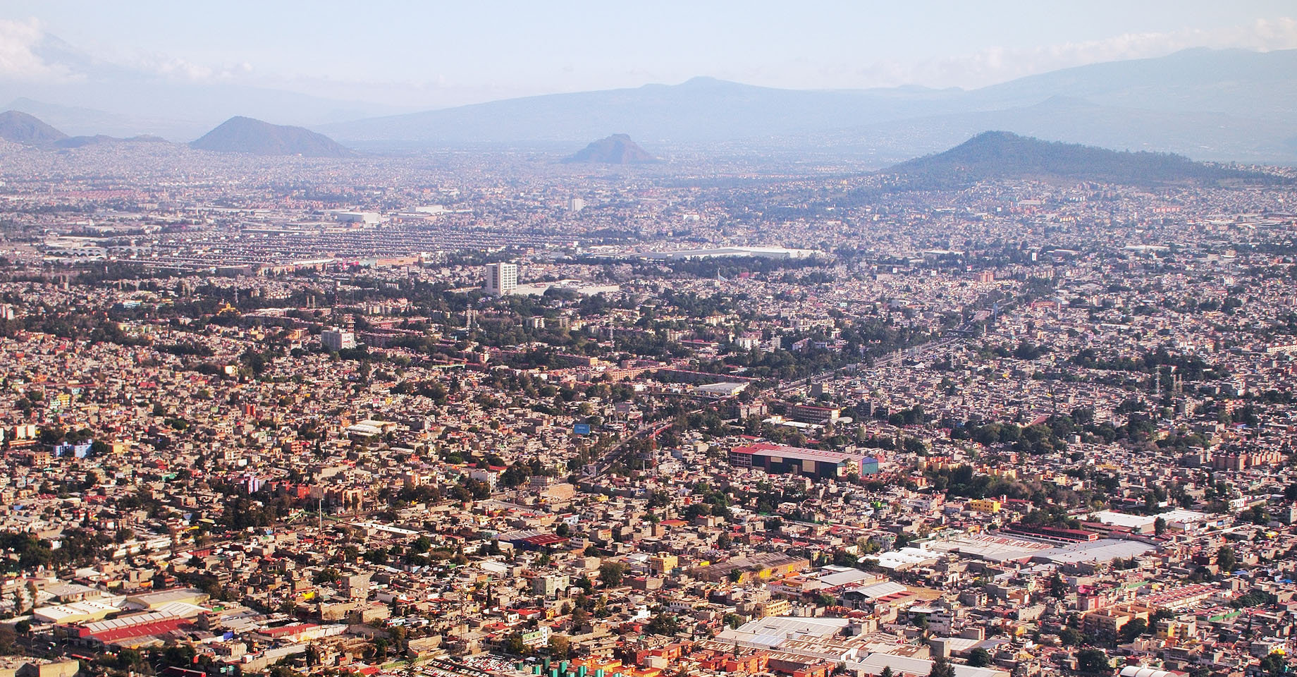 Greater Mexico City Aerial