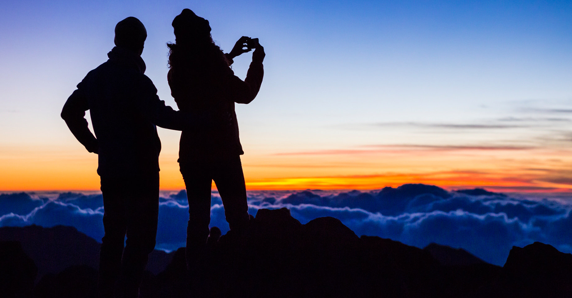 Sunrise on Mt Haleakala