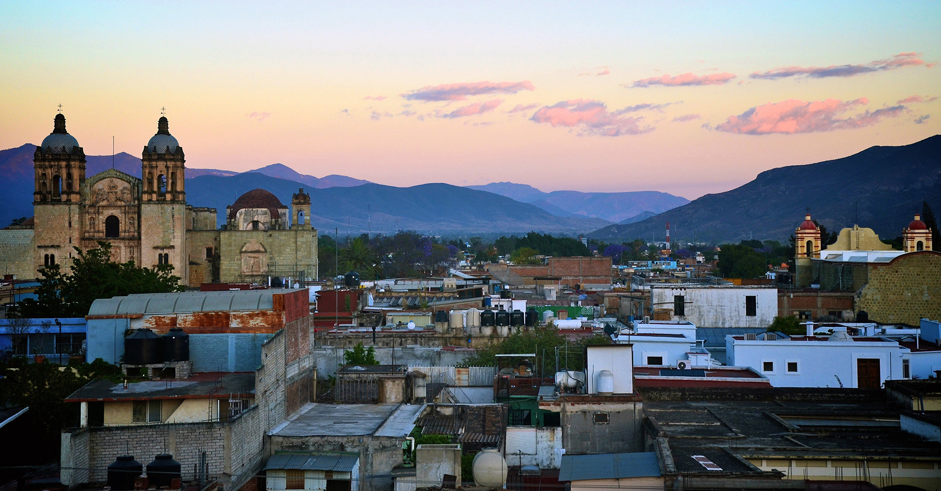 Oaxaca Sunset City View