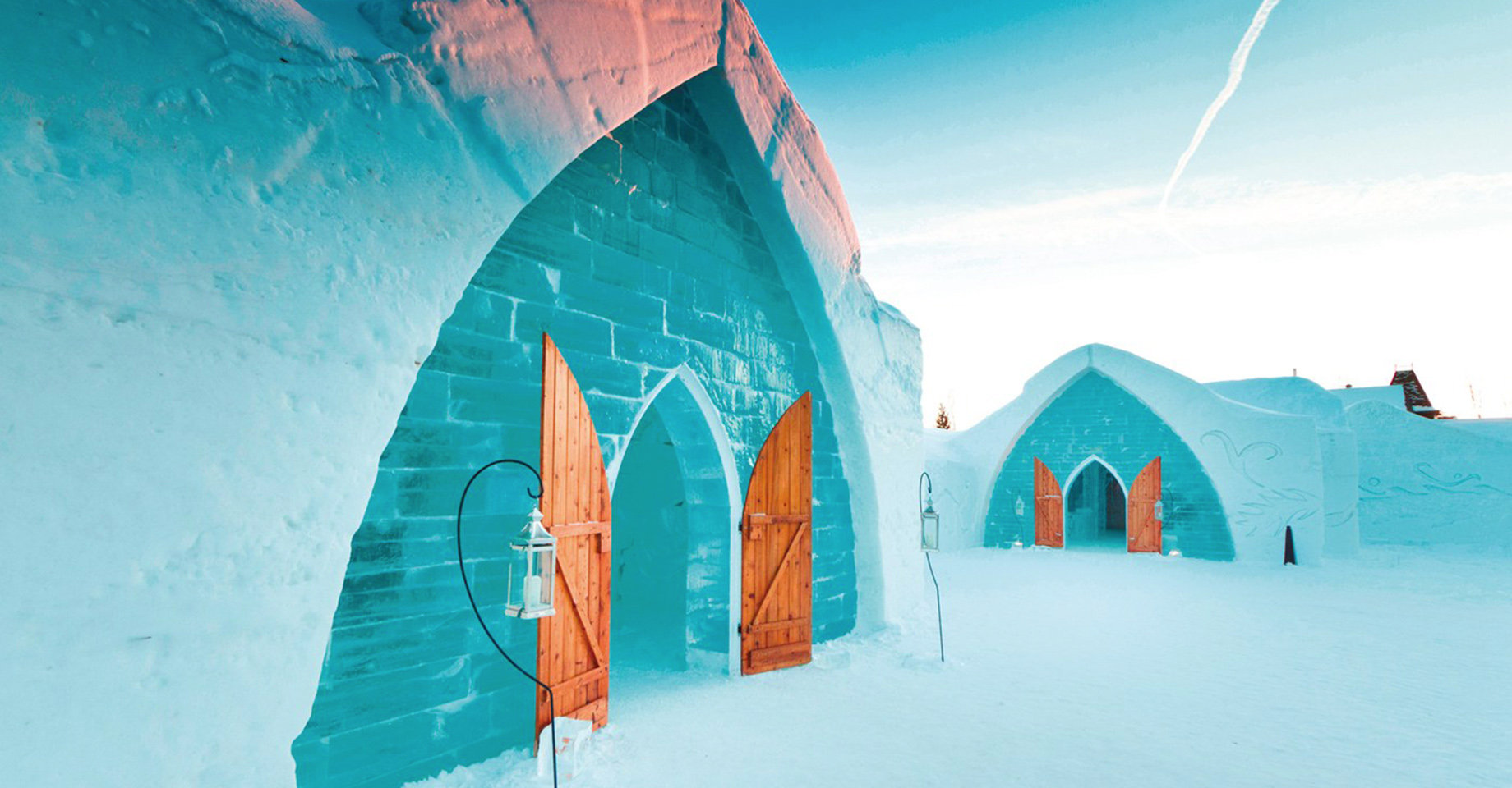 The Hotel de Glace in Quebec