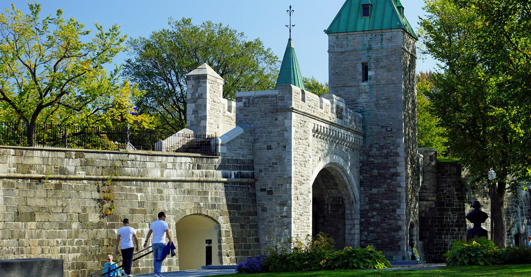 Fortified walls of Quebec City