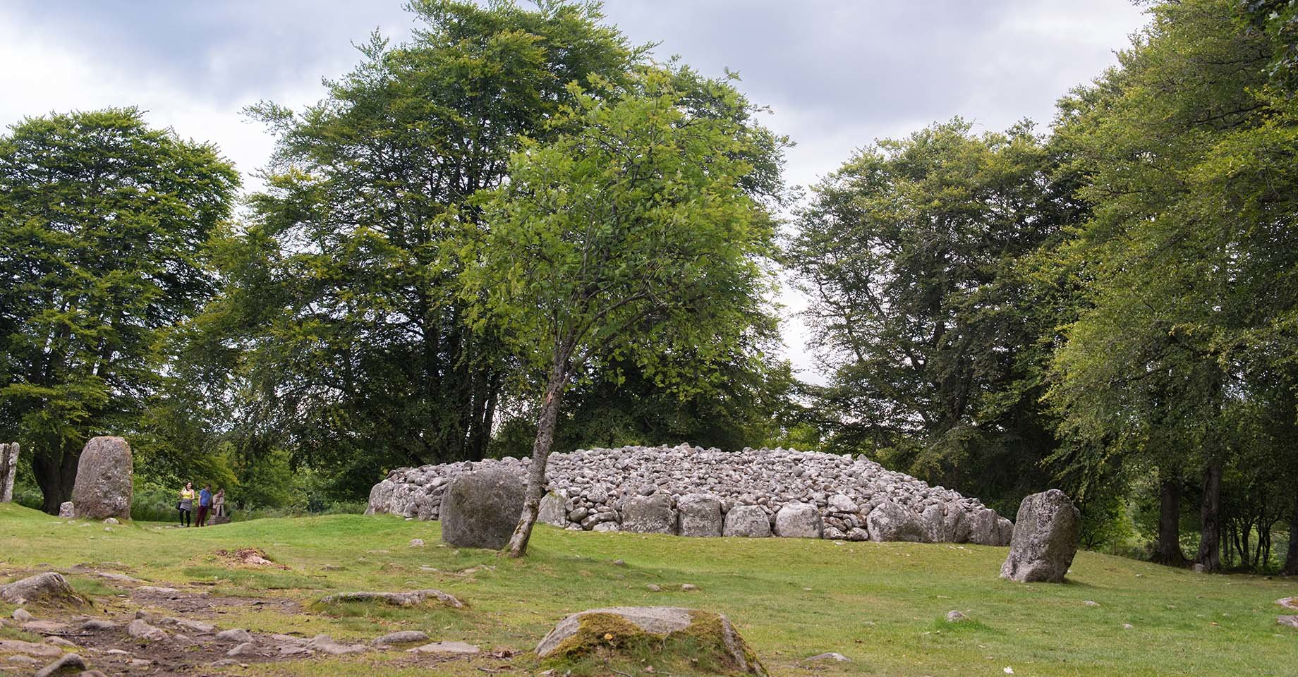 These well-preserved Clava cairns date back about 4000 years