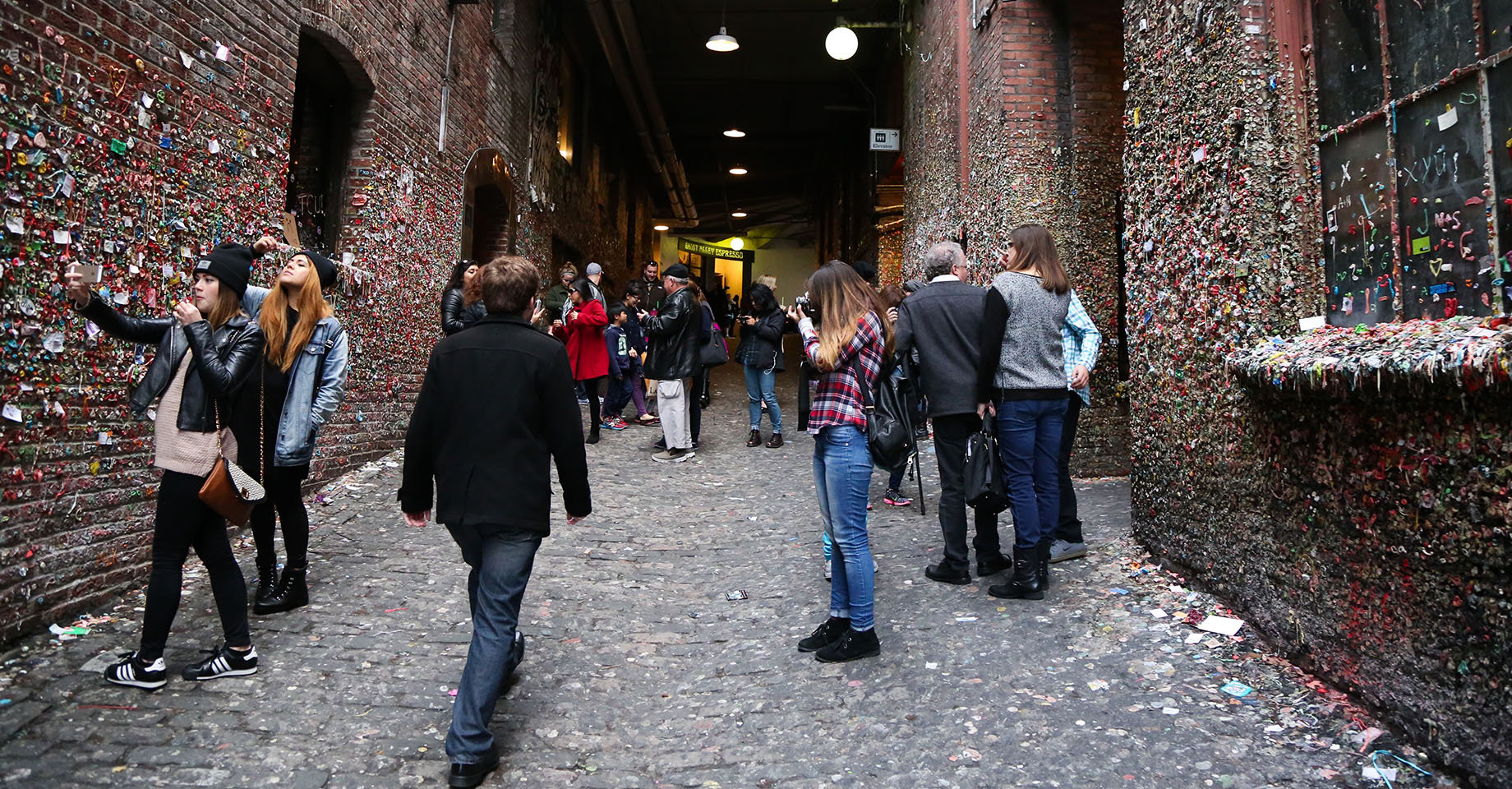 Seattle Pike Place Gum Wall