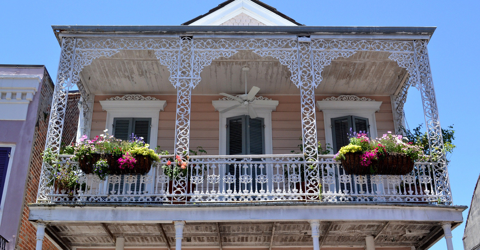 French Colonial Architecture - French Quarter