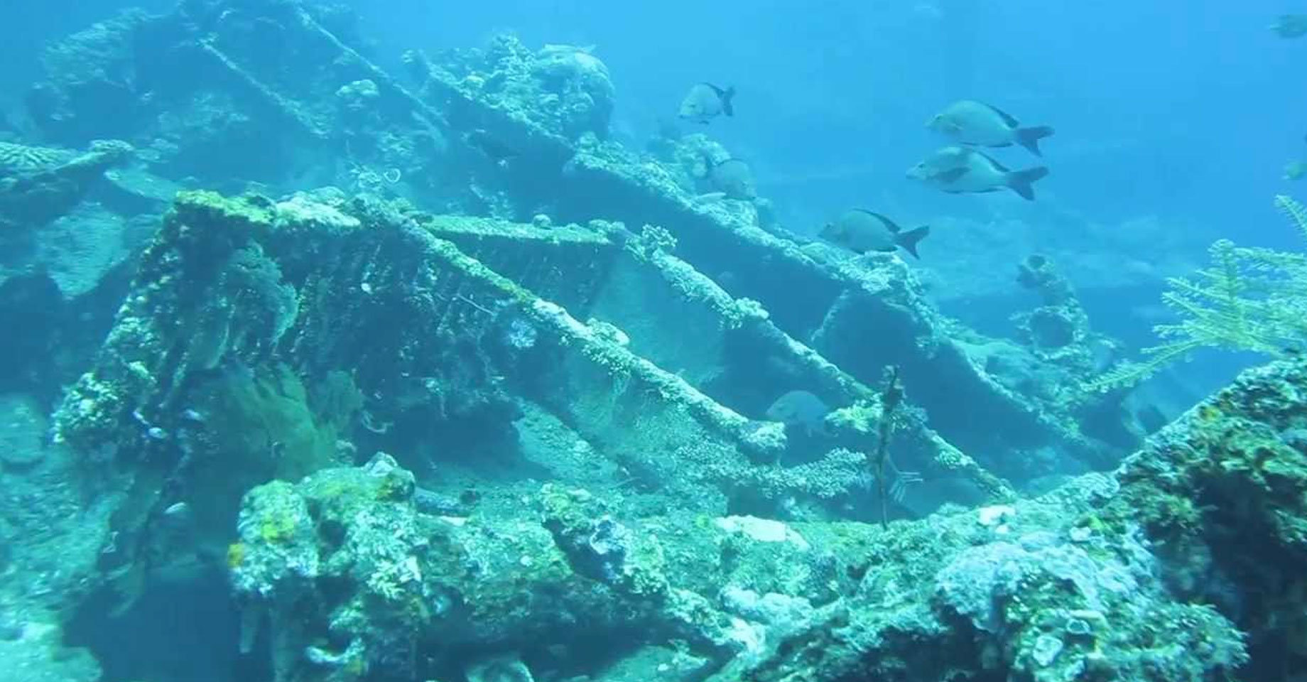 shipwreck of the USAT Liberty
