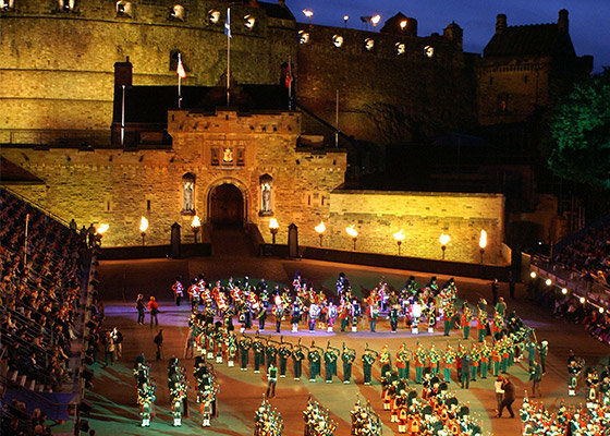 Edinburgh Military Tattoo at Edinburgh Castle