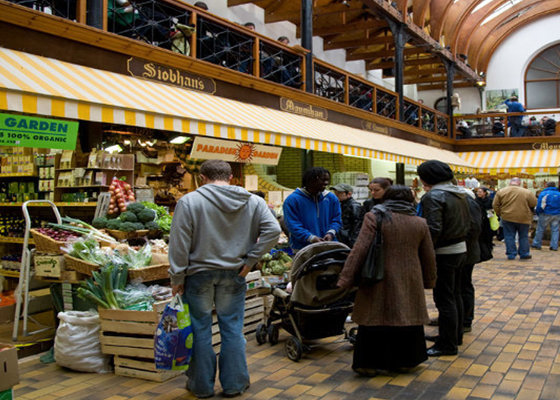 The English Market in Cork