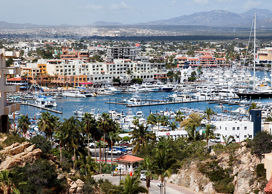 Los Cabos Cabo San Lucas Marina and Downtown