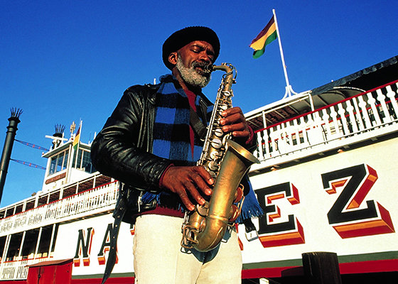 New Orleans Jazz Man