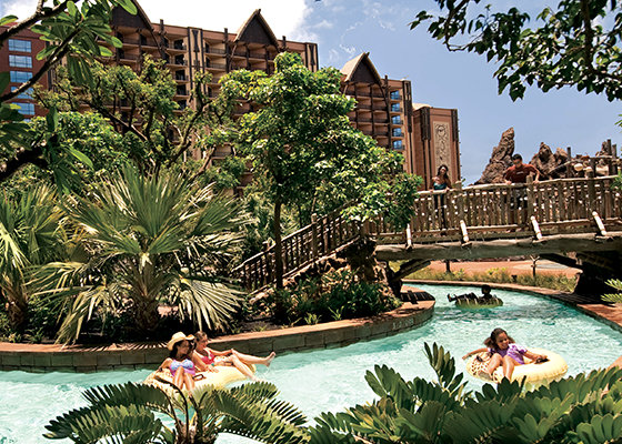 The Pool at Aulani, A Disney Resort & Spa.