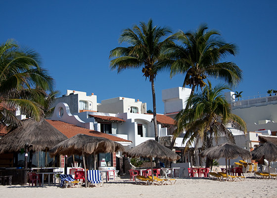 Playa Del Carmen, Beachfront Resorts