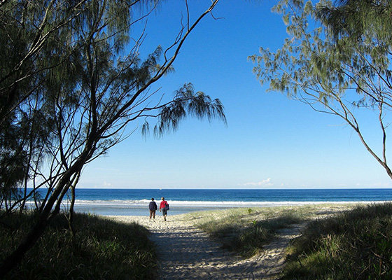 A Queensland beach