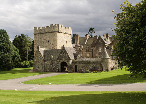 Drum Castle in Scotland