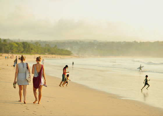 The beach at Seminyak