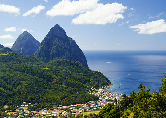 St Lucia St Pitons