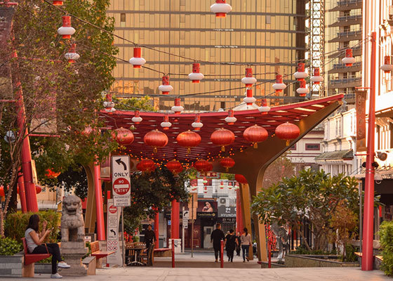 Chinatown in Fortitude Valley