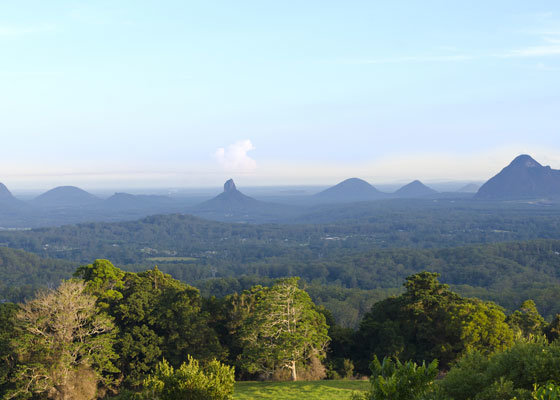 Scenic view of the Hinterland