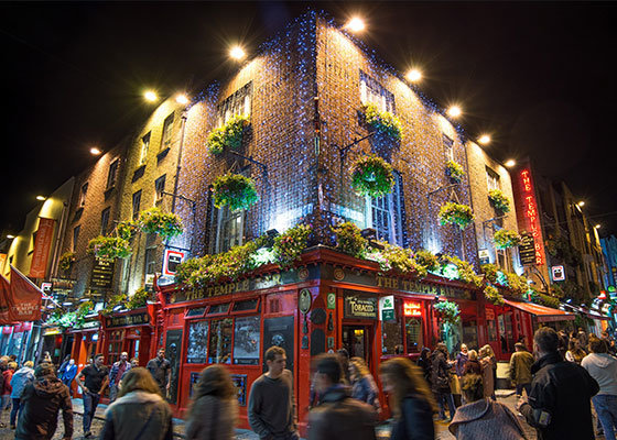 Irish pub in Dublin